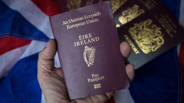 Irish passports are becoming more desirable with Brexit looming (Photo: Getty)