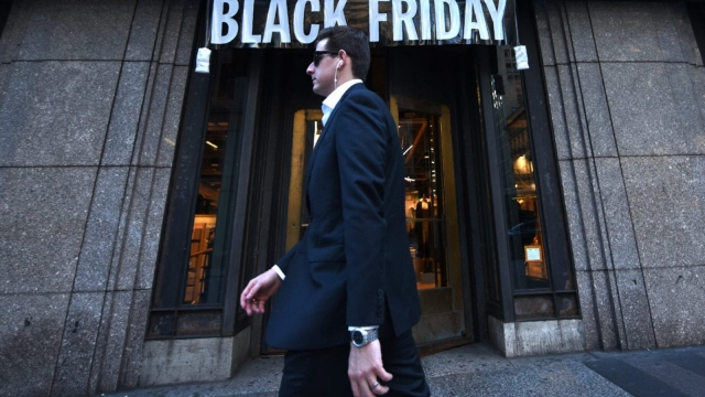 In the US, Thanksgiving is the day before Black Friday (Photo Timothy A. Clary/AFP/Getty Images)