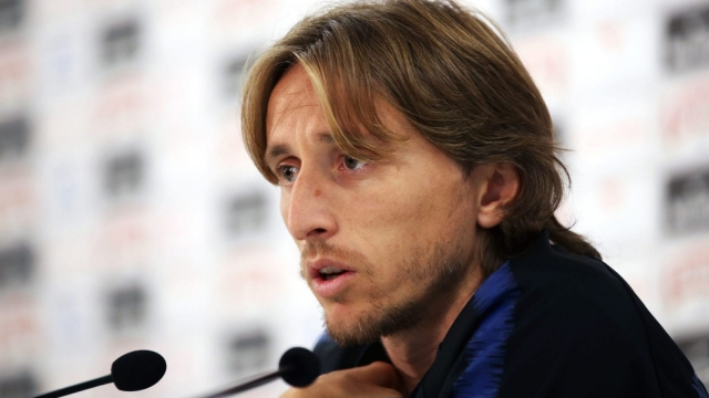 Article thumbnail: Luka Modric was the star of the show in the World Cup semi-final (PA)