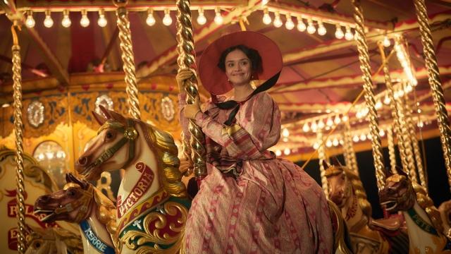 Article thumbnail: Olivia Cooke as Becky Sharpe in ITV's recent adaptation of Vanity Fair (Photo: ITV/Mammoth Screen/Robert Viglasky)