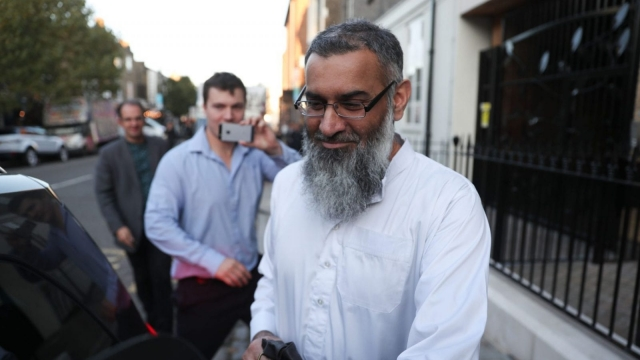 Rod Liddle made the comments in an article discussing Anjem Choudary's release from prison (Photo: AFP/Getty)