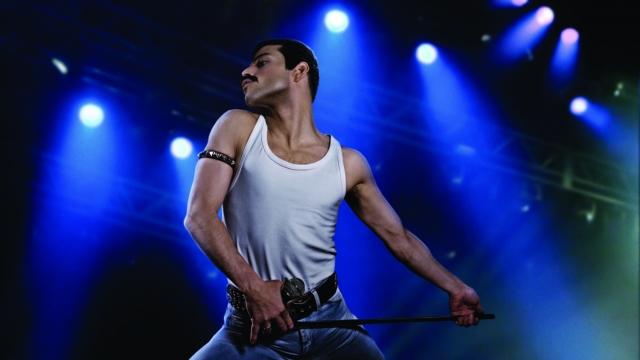 Rami Malek becomes Freddie Mercury in Bohemian Rhapsody. Photo: Twentieth Century Fox