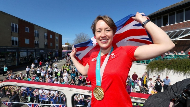 Lizzy Yarnold is Britain's most successful Winter Olympian (PA)