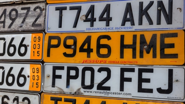 number plate cloning