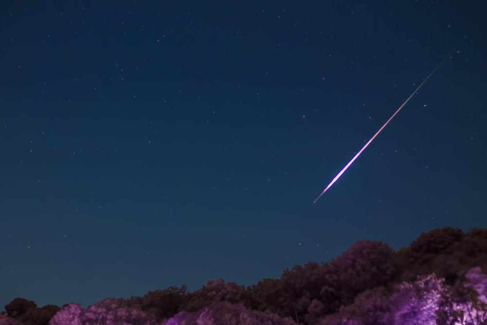 meteor shower shutterstock