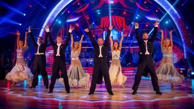 There was also this year a Strictly Come Dancing Children In Need special (Photo: BBC)