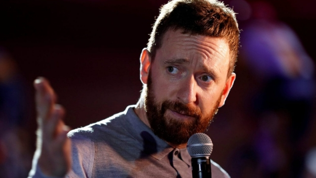 Article thumbnail: Bradley Wiggins has been taking questions from the audience on his tour of the UK