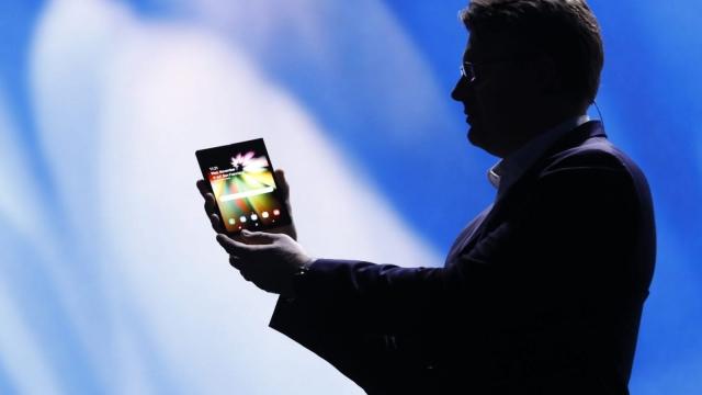 Article thumbnail: Samsung folding phone