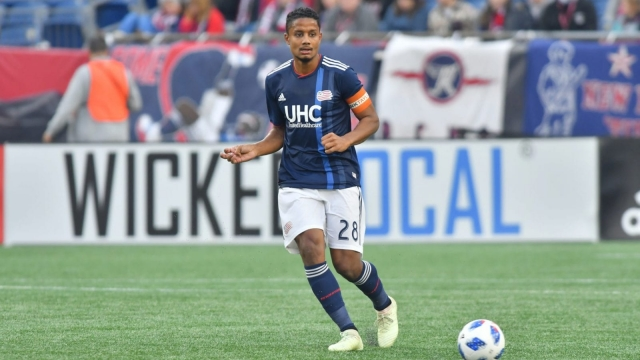 Michael Mancienne in action for New England Revolution (Photo via New England Revolution)