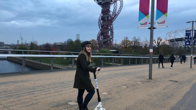 London's Queen Elizabeth Olympic Park will play host to 50 Bird scooters (Photo: Bird/i)