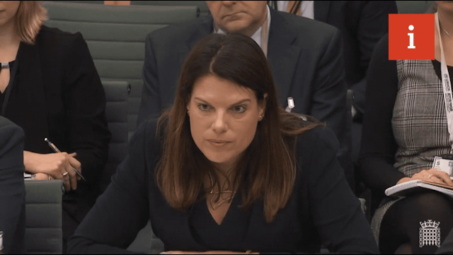 Caroline Nokes speaks at the Home Affairs Committee. (Image: Parliament TV)