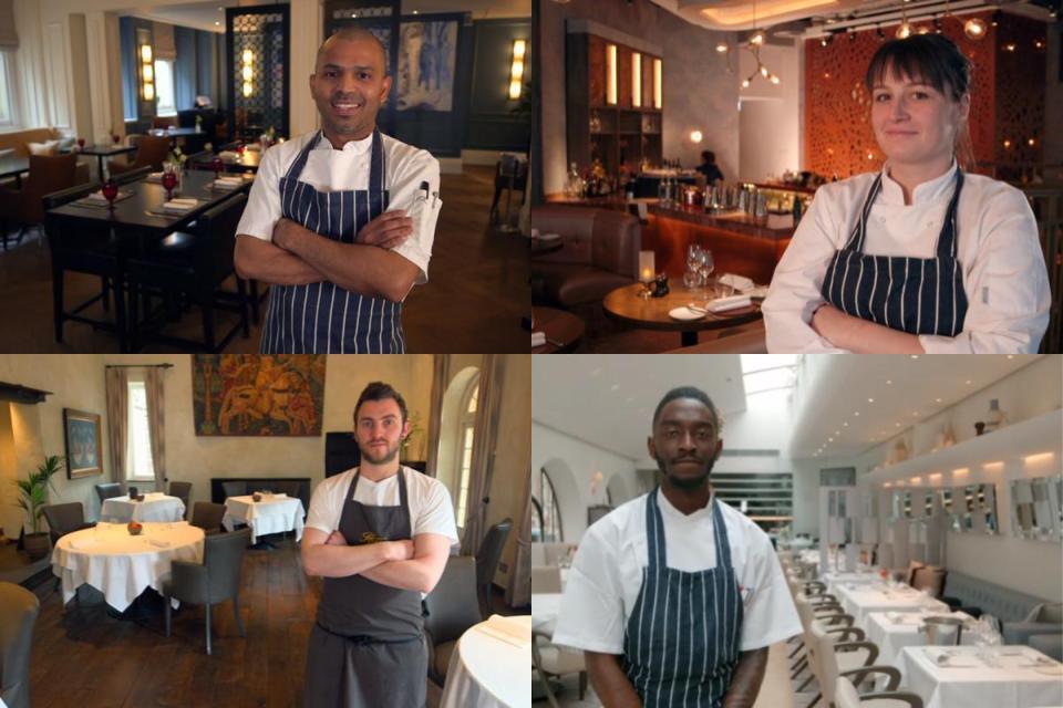 masterchef professionals contestants 2018