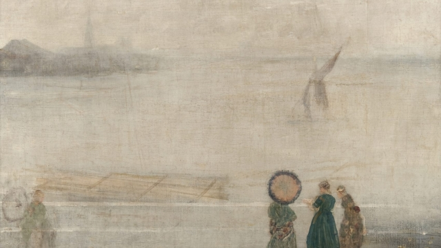 Whistler's 'Battersea Reach from Lindsey Houses' © The Hunterian, University of Glasgow 2017