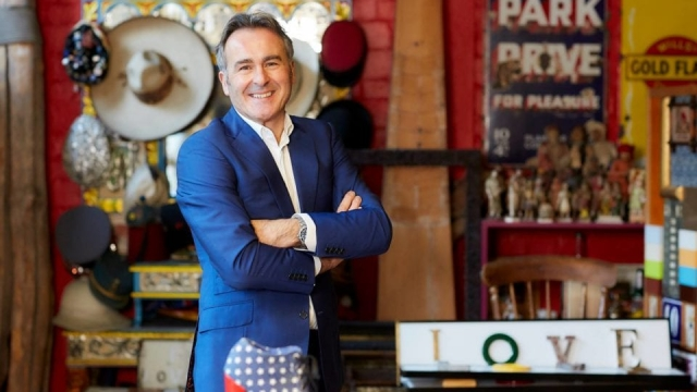 The programme will be hosted by antiques dealer, Paul Martin (Photo: BBC)
