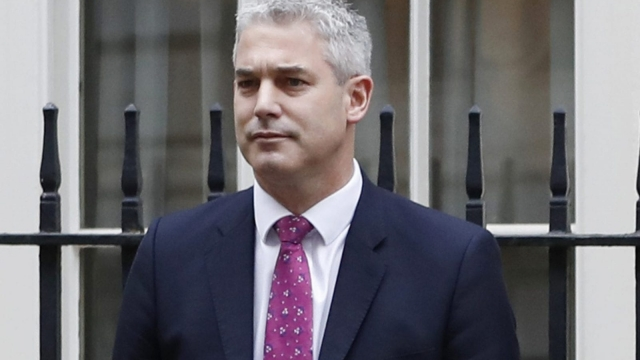 Stephen Barclay has been promoted to Brexit Secretary (AP)