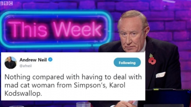 Andrew Neil, presenter of This Week on the BBC (BBC)