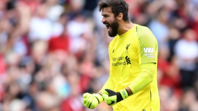 Alisson has kept the second most clean sheets in the Premier League this season - and picked up a load of fantasy points as a result (Photo: Getty)