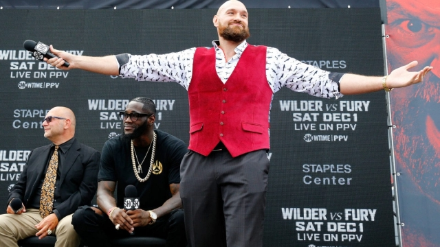 Tyson Fury is confident of causing a shock in the world of boxing this weekend