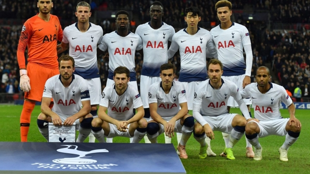 Spurs manager Mauricio Pochettino opted for a =n attacking line-up featuring Kane, Son, Eriksen, Moura and Alli (Getty Images)