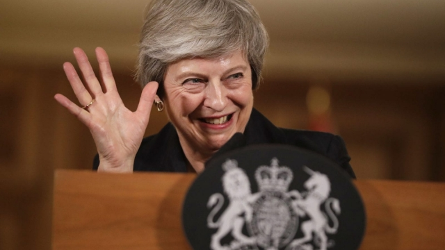 Theresa May still has the confidence of her party... for now (Photo: Matt Dunham/WPA Pool/Getty Images)