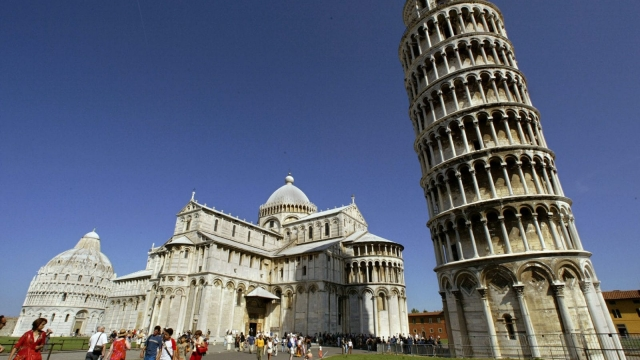 The Leaning Tower of Pisa is straightening up