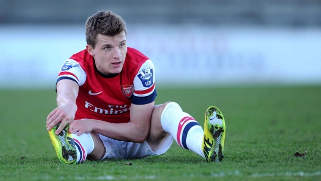 Thomas Eisfeld during his time at Arsenal (Getty Images)