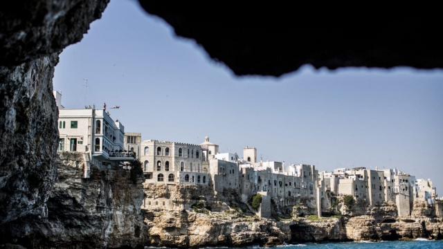 Polignano a Mare is charging tourists an entry fee this Christmas (Photo: Getty)