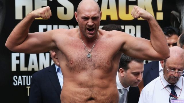 Tyson Fury could also be in the running (Getty)