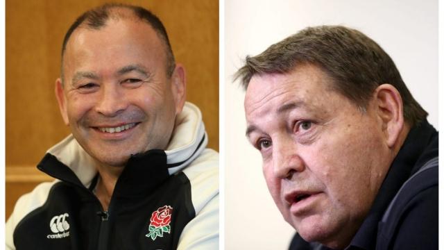 Eddie Jones' England team will face Steve Hansen's New Zealand All Blacks on Saturday at Twickenham