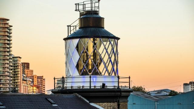The lighthouse at Trinity Buoy Wharf, London (Photo: Urban Space)
