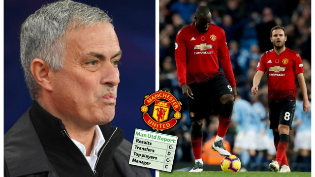 Jose Mourinho and Manchester United have underperformed in the Premier League so far this season (Getty Images)