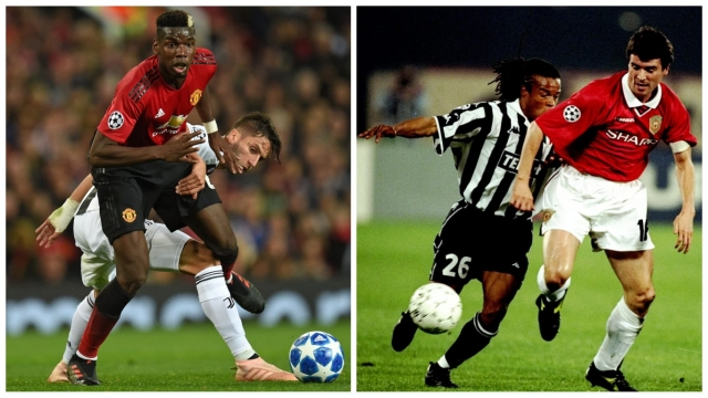 Pogba put in many match-winning peformances while playing for Juventus - can he do the same against them? (Photo: Getty Images/Allsport)