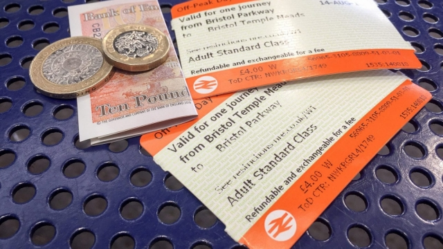 Britain's rail fares will increase by an average of 3.1% on 2 January (PA)