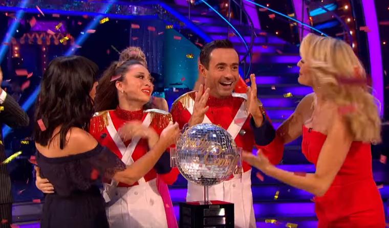 Joe McFadden and Katya Jones won Strictly Come Dancing 2017 (Photo: BBC)