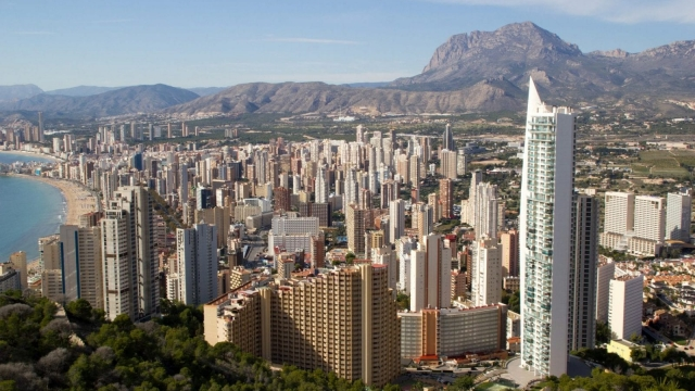 Benidorm was hit by storms but the weather warning has now been lifted (Photo: Pixabay)