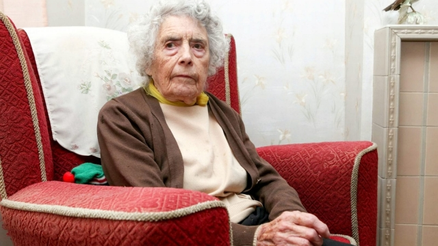 "A burglar stole ""60 years of memories"" from a 96-year-old Gloucestershire war hero. (SWNS)"