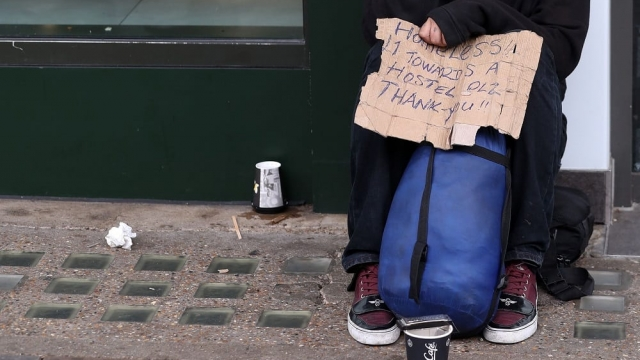 A quarter of people facing a homeless Christmas will be on London's streets (Photo: Daniel Leal-Olivas/AFP/Getty/File)