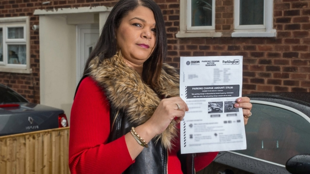 Zoe Parr has expressed her anger after a parking valet had been driving her car hundreds of miles whilst she was on holiday - racking up a £70 fine. (Photo: SWNS)