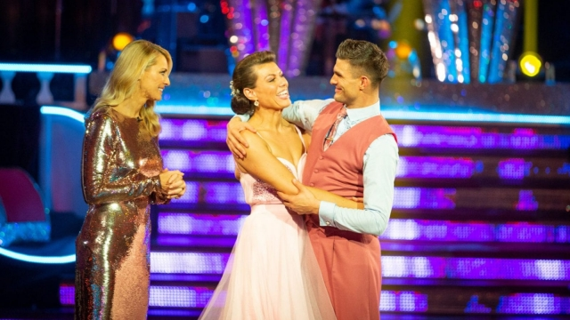 Kate Silverton and dance partner Aljaz Skorjanec became the latest couple to leave Strictly Come Dancing (Photo: Guy Levy/BBC/PA Wire)
