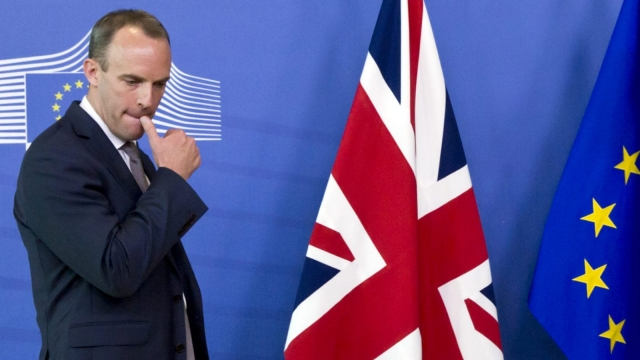Dominic Raab has resigned as Brexit Secretary (AP)