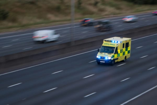Even if you're moving out of the way of an emergency vehicle, you could be fined up to £1,000 for running a red light (Photo: Shutterstock)