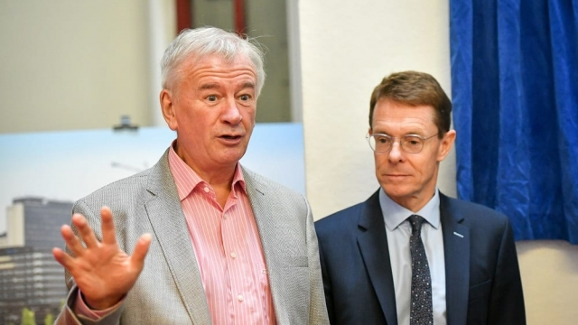 Sir Terry Morgan (left) chose to leave his post as chairman of Crossrail. (Photo: Ben Birchall/PA)