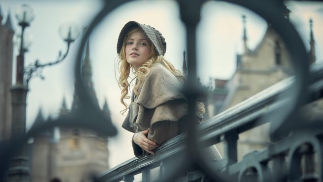 Ellie Bamber as Cosette in the recent BBC One adaptation of Les Misérables (Photo: BBC/Robert Viglasky)