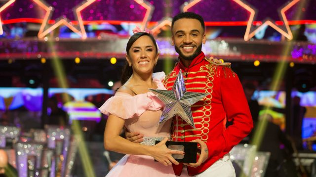 Aston Merrygold has won Strictly Come Dancing's Christmas special (Photo: PA)