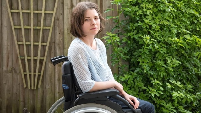 'I was pretty terrified, I felt completely... just lost. I didn't know what to do' (Photo: Susannah Fields/MS Society)