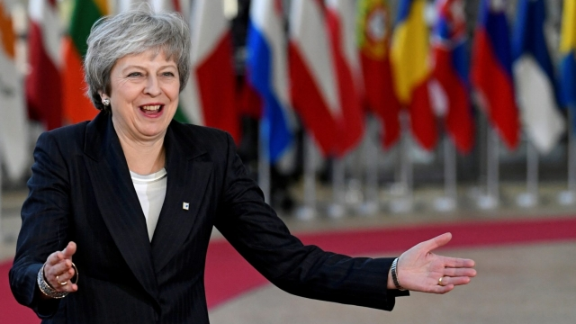 Theresa May is given her highest approval rating since becoming Prime Minister (Piroschka van de Wouw/Reuters)