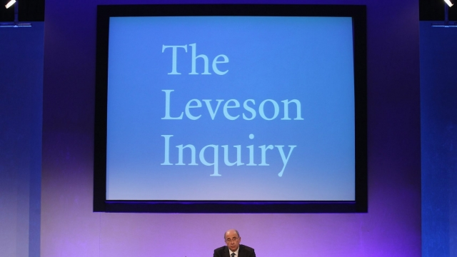 Article thumbnail: The Leveson inquiry is now in an online interactive format (Photo: Dan Kitwood/PA Wire)