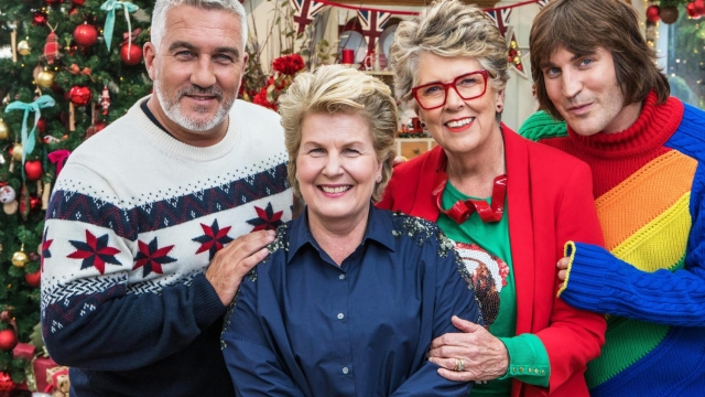 The Great Christmas British Bake Off. Photo: Channel 4