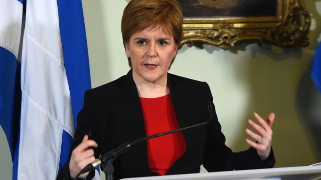 Arguments over Brexit dominated much of 2018 in Scotland (Photo: Getty)