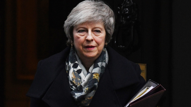 Theresa May: faces uphill struggle to win vote (Photo by Leon Neal/Getty Images)